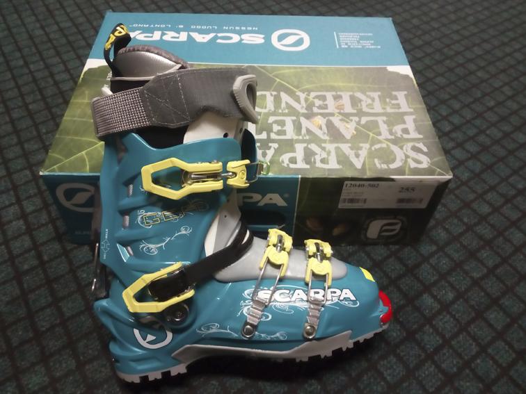 Dámské skialpiniské boty Scarpa Gea vel 255mm